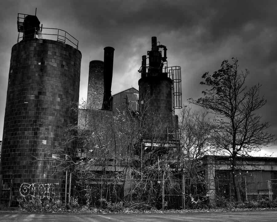 Urban- Black And White Photograph