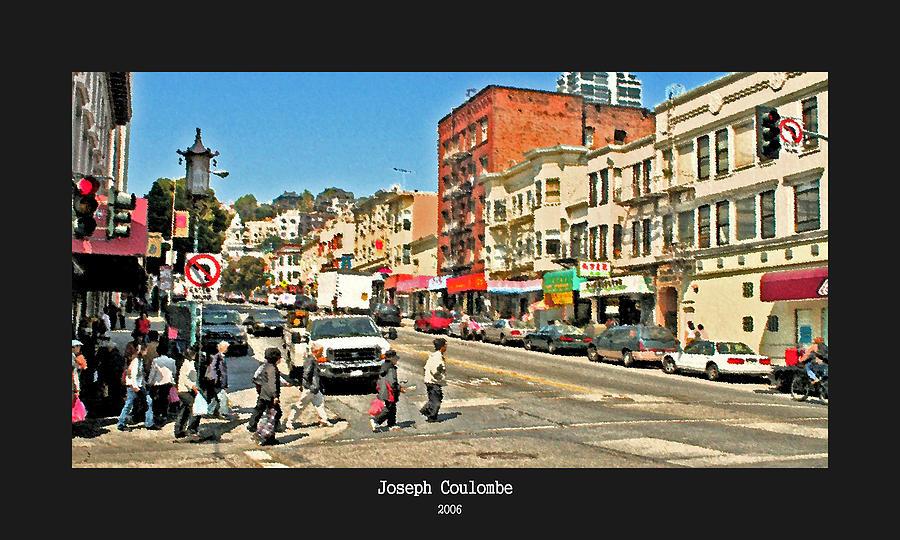 Urban Cross Walks Photograph