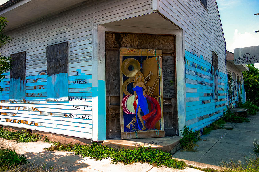 New Orleans Photograph - Urban Decay New Orleans Style by Louis Maistros