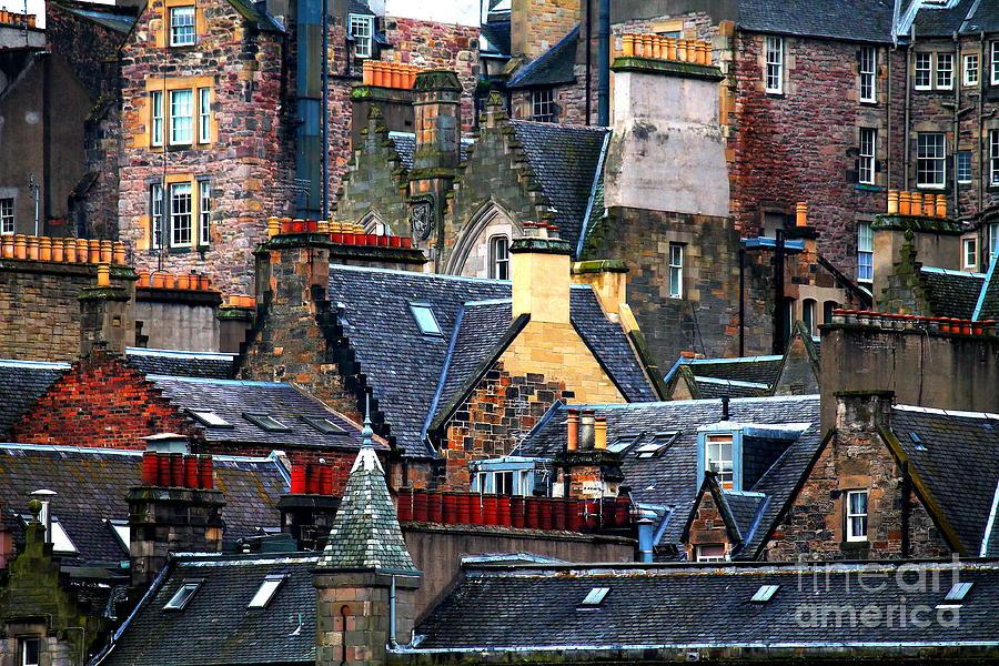 Urban Edinburgh Photograph By Brent Boutin