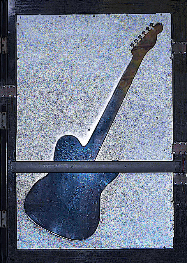 Urban Guitar Photograph  - Urban Guitar Fine Art Print