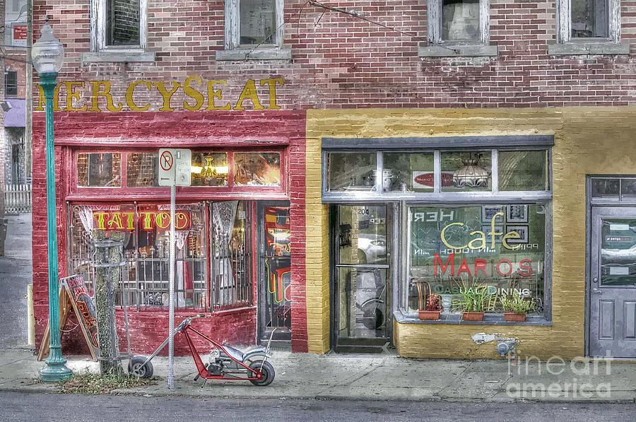 Urban Mercyseat Oil Painting Photograph