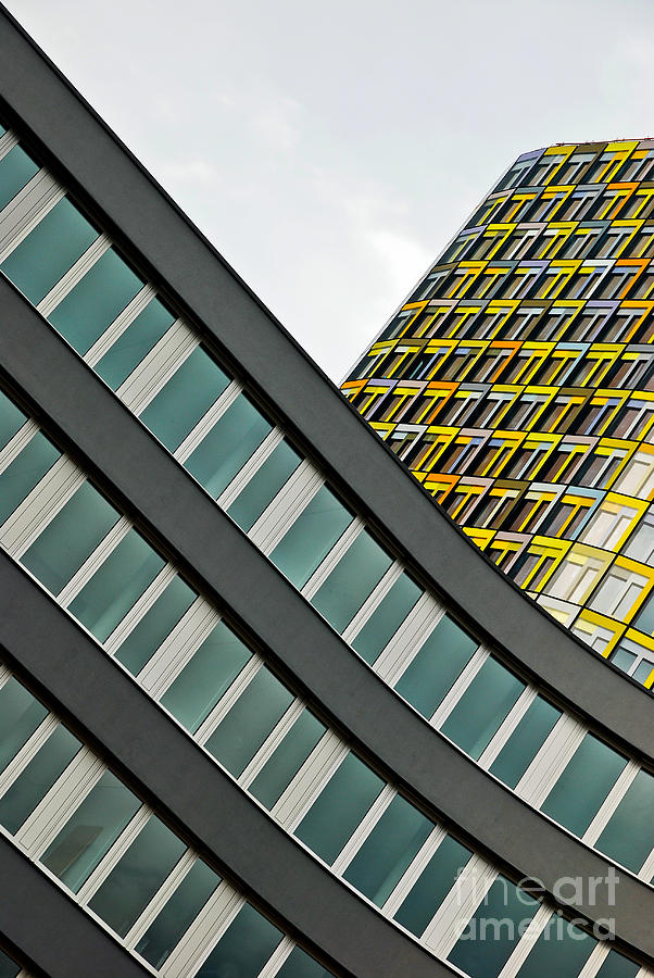 Adac Photograph - urban rectangles III by Hannes Cmarits