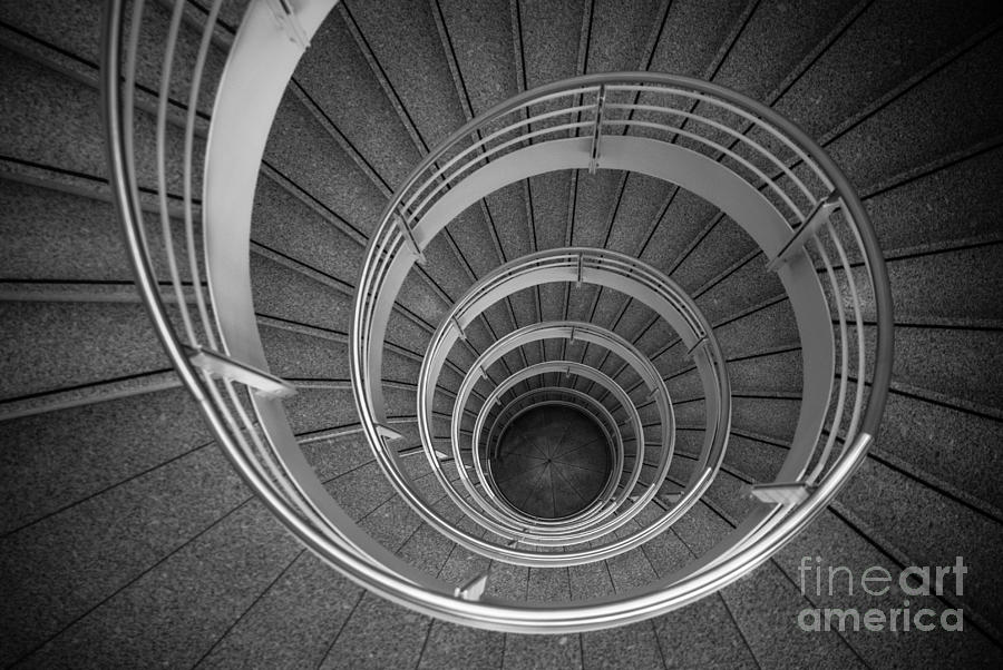 urban spiral - gray II Photograph