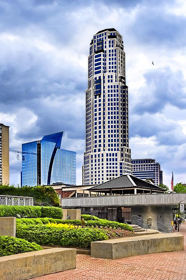 Urbania - Atlanta Buckhead Skyline Photograph