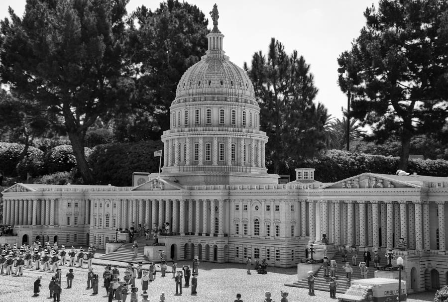 United Photograph - Us Capitol by Ricky Barnard