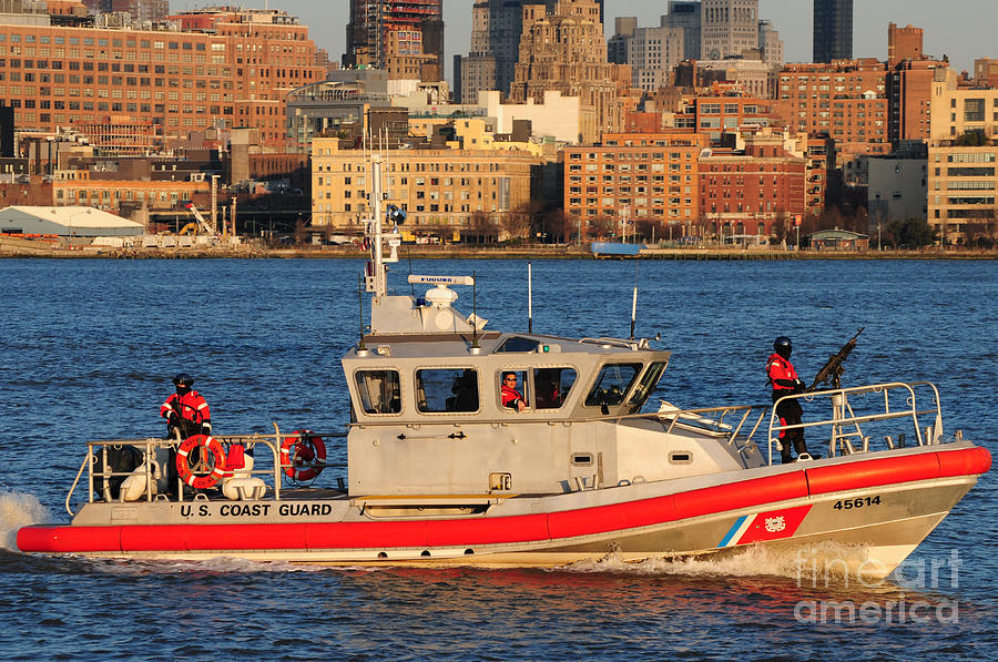 U.s. Coast Guard - Always Ready Photograph  - U.s. Coast Guard - Always Ready Fine Art Print
