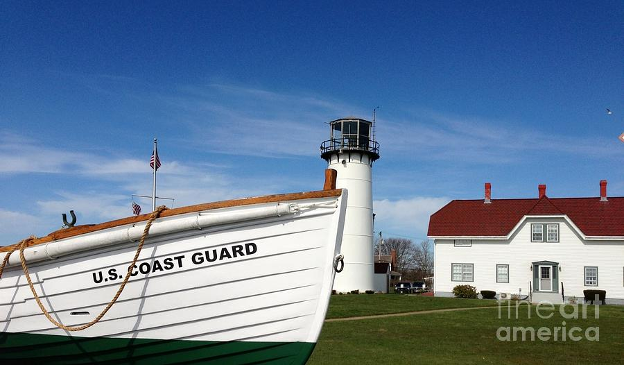 U.s. Coast Guard Chatham Painting  - U.s. Coast Guard Chatham Fine Art Print