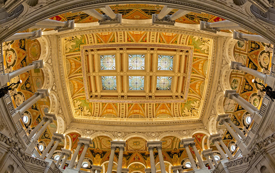 Library Of Congress Photograph - Us Library Of Congress by Susan Candelario
