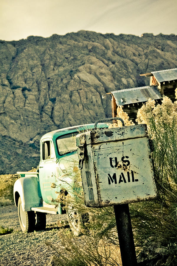 Us Mail Photograph  - Us Mail Fine Art Print