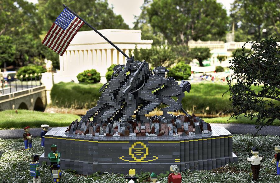 Us Marine Corps War Memorial Photograph