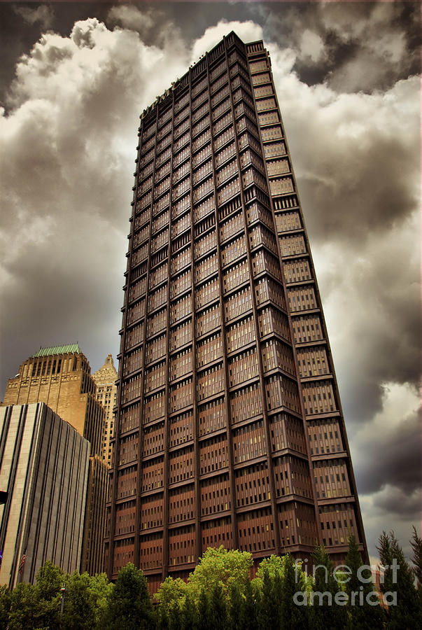 Us Steel Building Pittsburgh Hdr Photograph