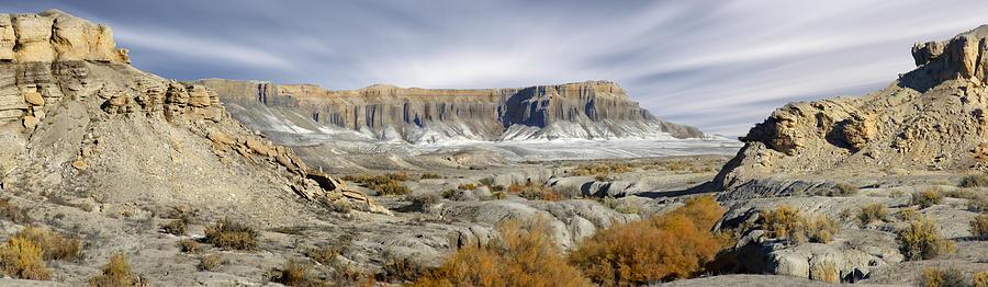 Desert Photograph - Utah Outback 43 Panoramic by Mike McGlothlen