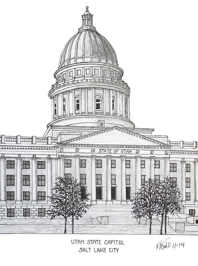 Capitol Building Drawing Pictures to Pin on Pinterest ...