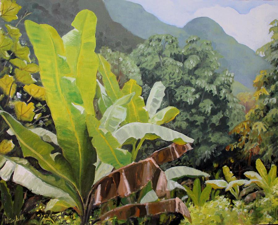 Utuado Puerto Rico Painting
