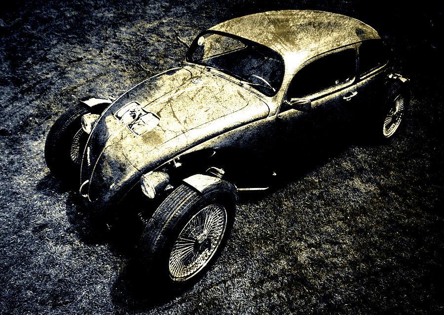 Vw Beetle Photograph - V Dub Grunge by motography aka Phil Clark
