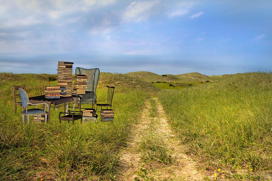 Beach Mixed Media - Vacancy  by Betsy Knapp