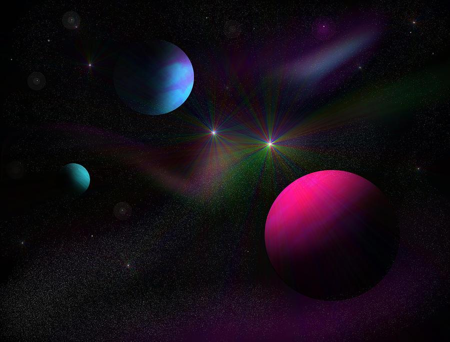 Vacuum Of Space Digital Art