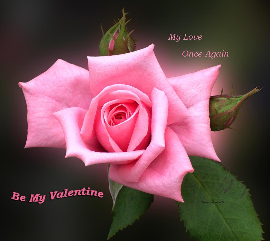 St. Valentine Photograph - Valentine My Love by Thomas Woolworth