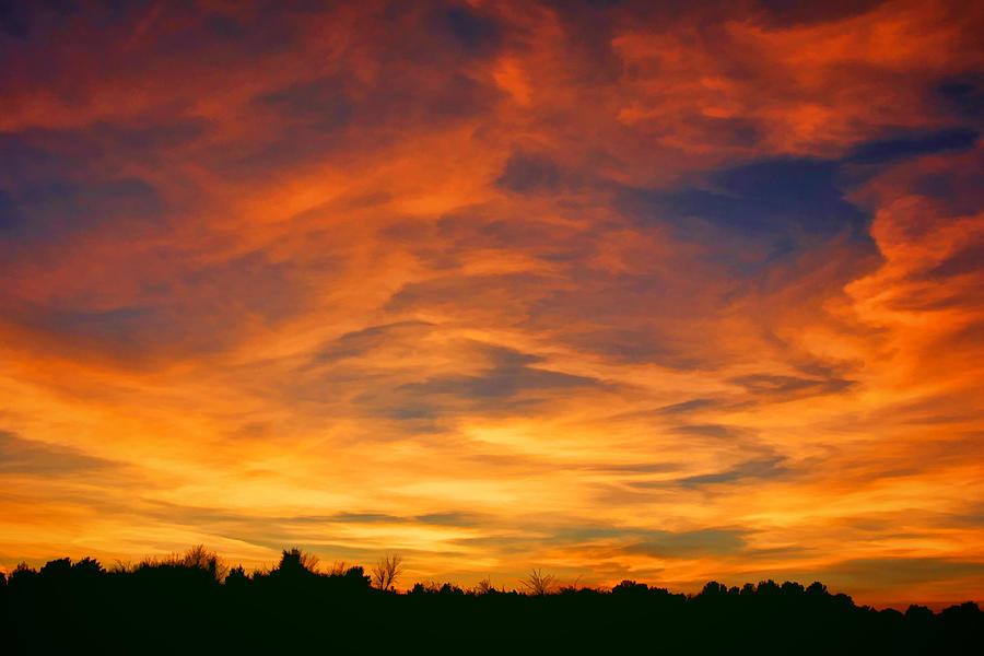 Valentine Sunset Photograph