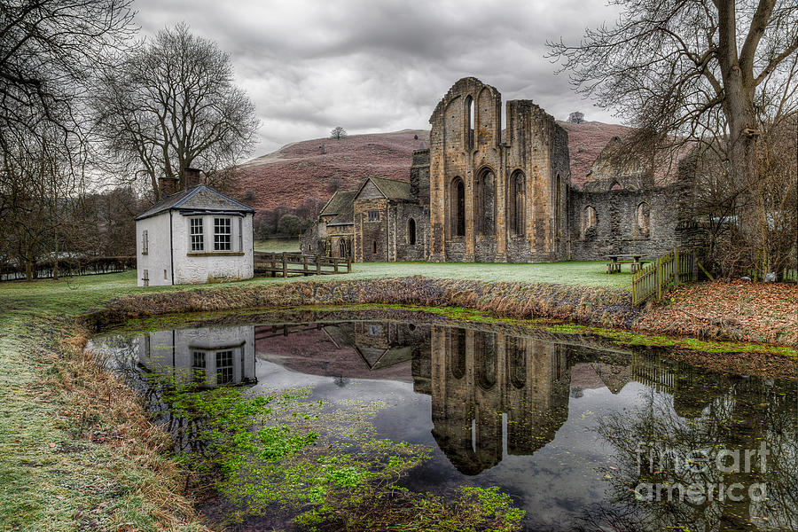 Valle Crucis Abbey Photograph