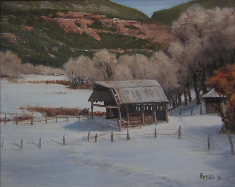 Valley At Rest Painting