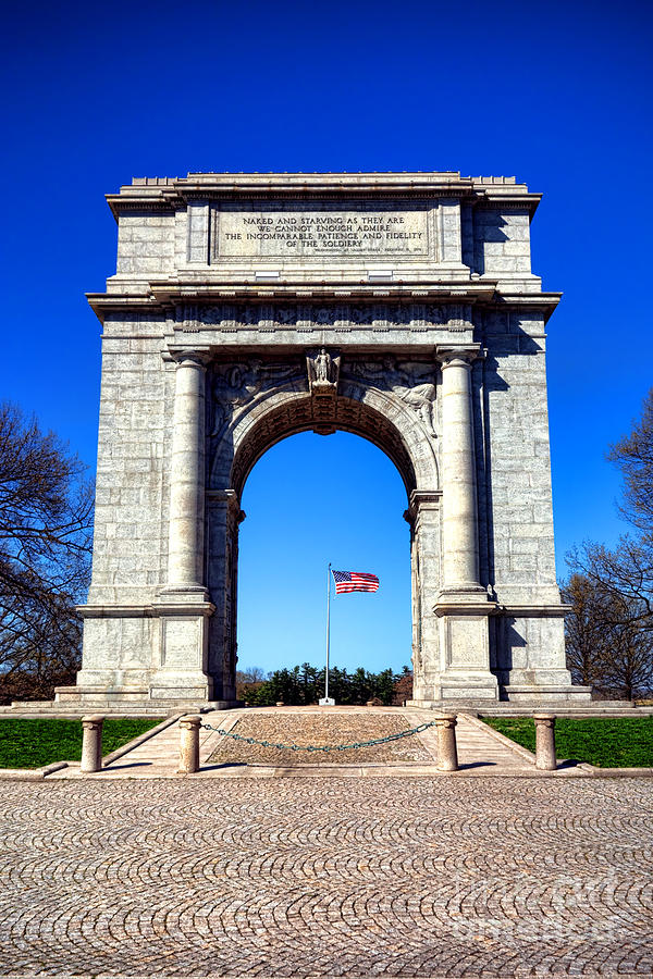 National Photograph - Valley Forge Landmark by Olivier Le Queinec