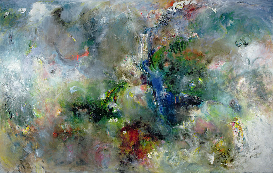 Valley Of The Waterfalls Painting