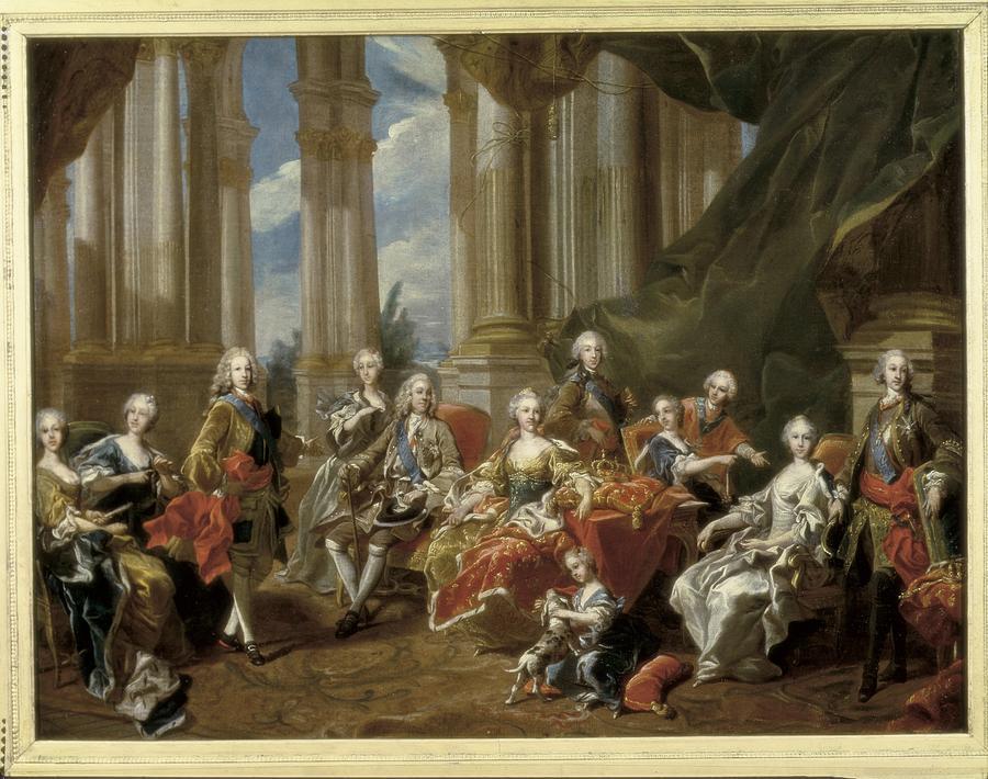 Van Loo, Louis Michel 1707-1771. Philip Photograph
