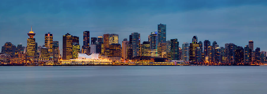 Vancouver From Lonsdale Quay Photograph