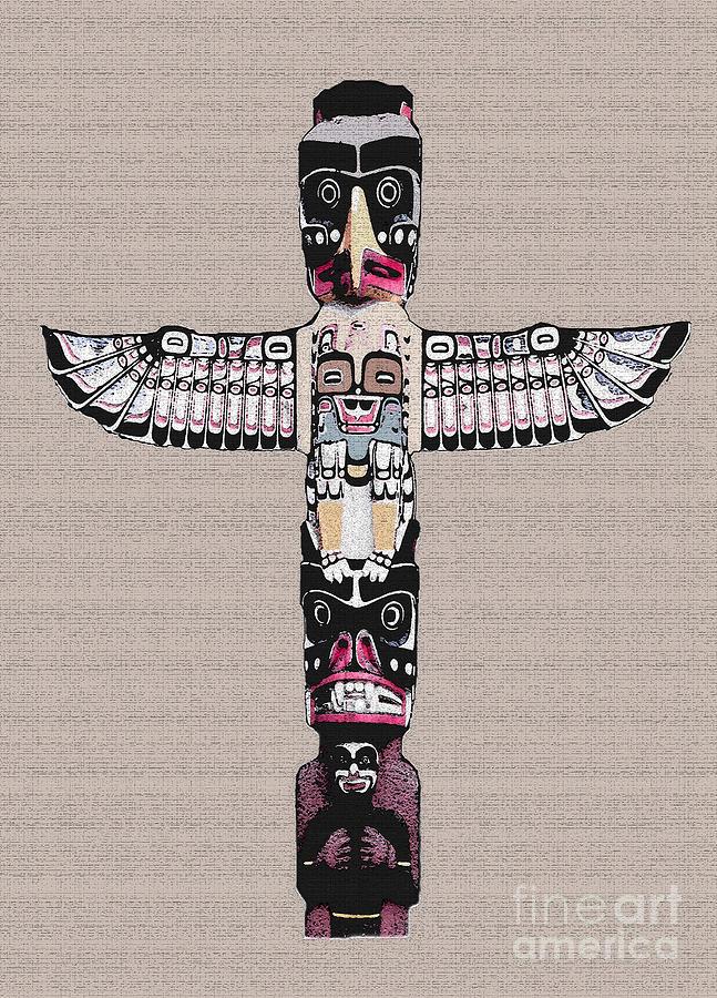 Vancouver Totem - 4 Photograph