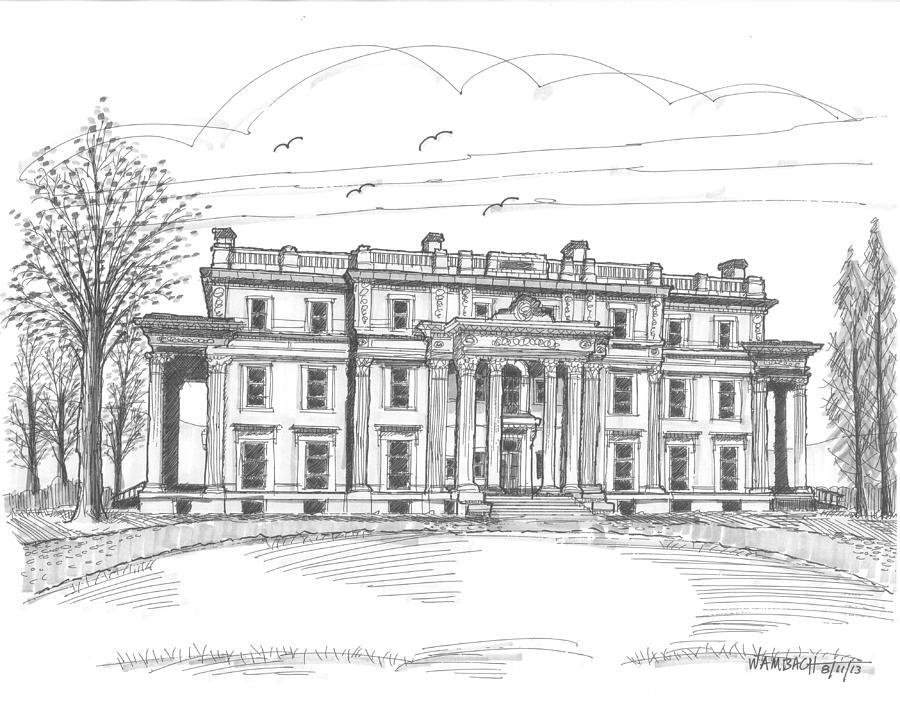 Vanderbilt Mansion Drawing