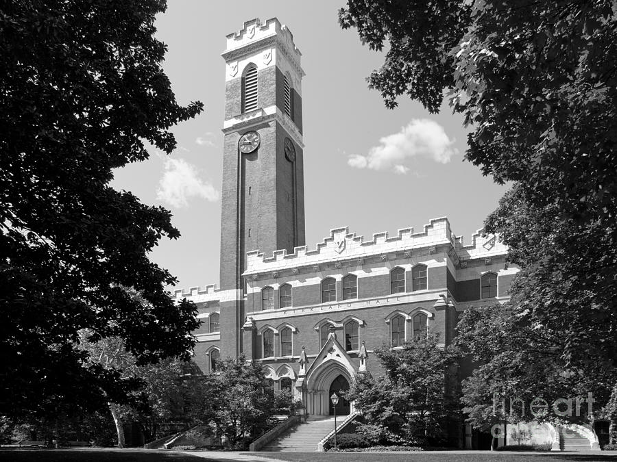 Vanderbilt University Kirkland Hall Photograph  - Vanderbilt University Kirkland Hall Fine Art Print
