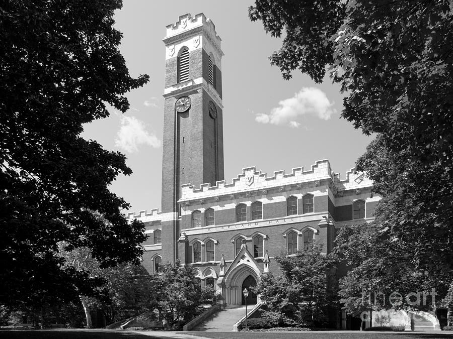 Vanderbilt University Kirkland Hall Photograph