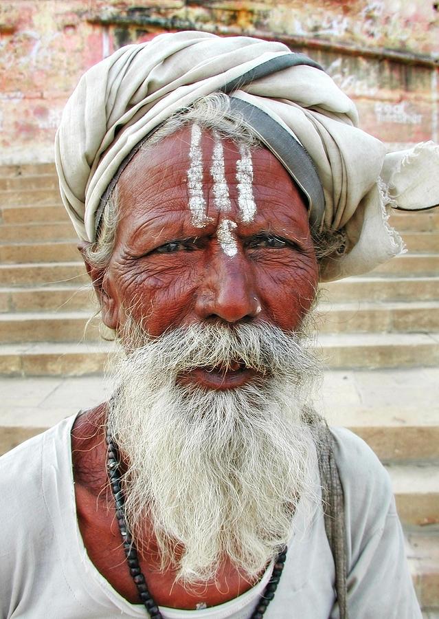 Varanasi Sadhu Photograph