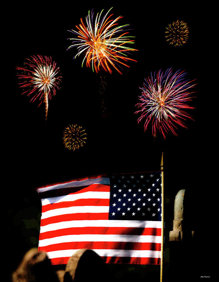 Variations On Old Glory No. 2 Photograph  - Variations On Old Glory No. 2 Fine Art Print