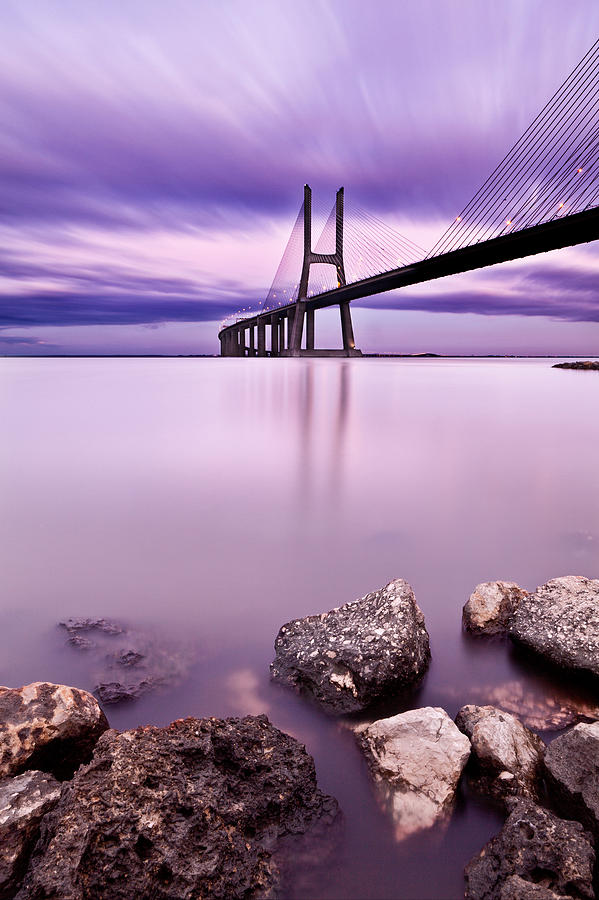 Vasco Da Gama Bridge Photograph