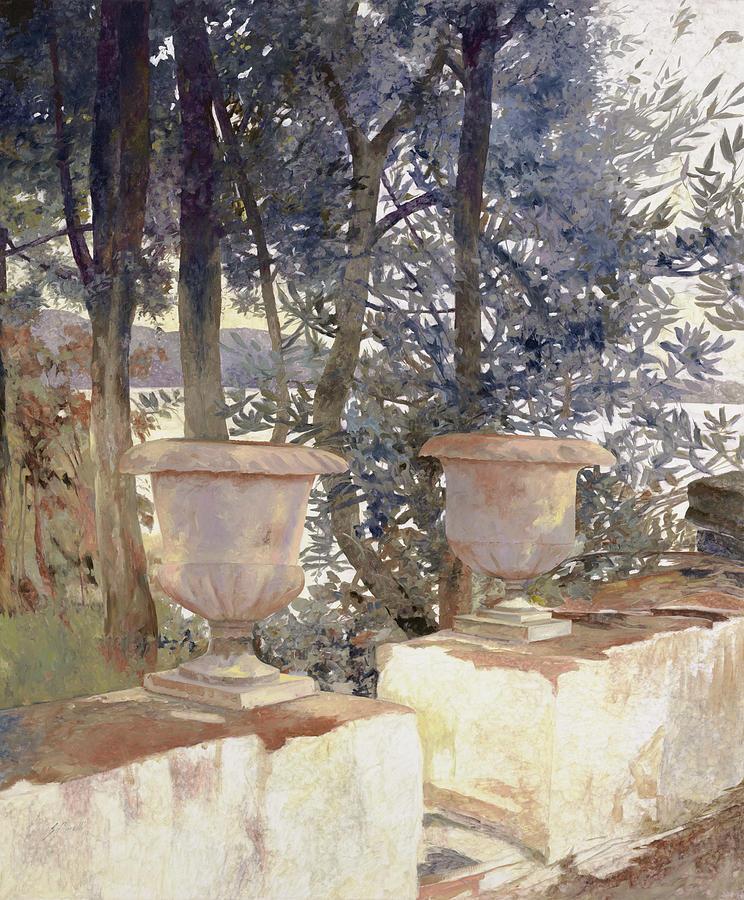 vasi a Corfu Painting