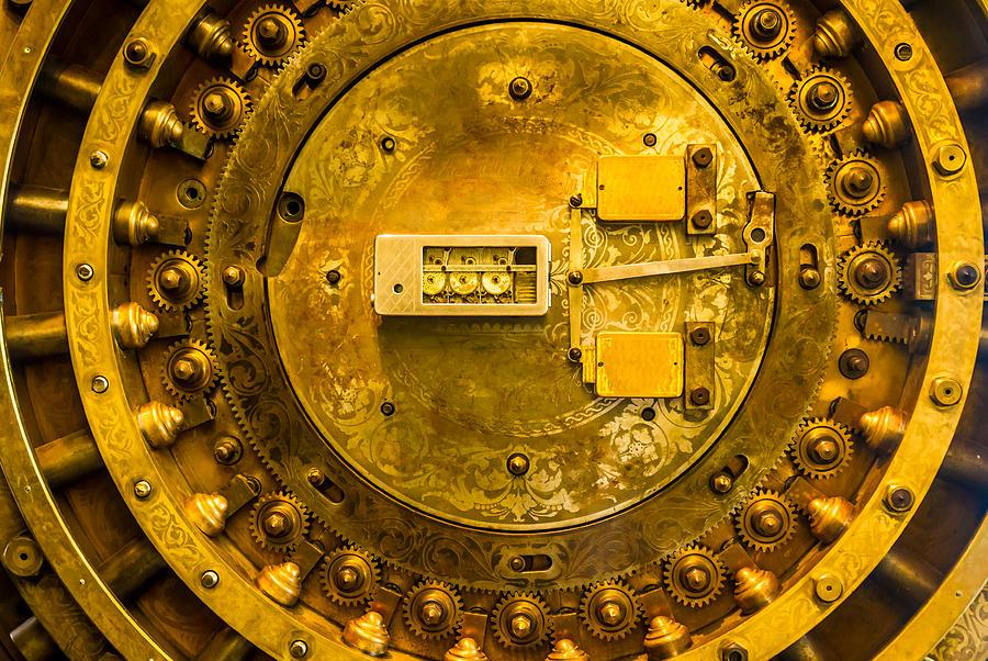 Vault Door Pyrography