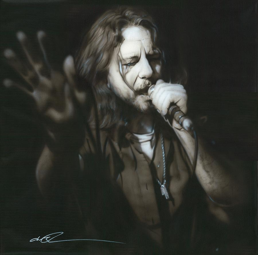 Eddie Vedder Painting - vedder IIi by Christian Chapman Art