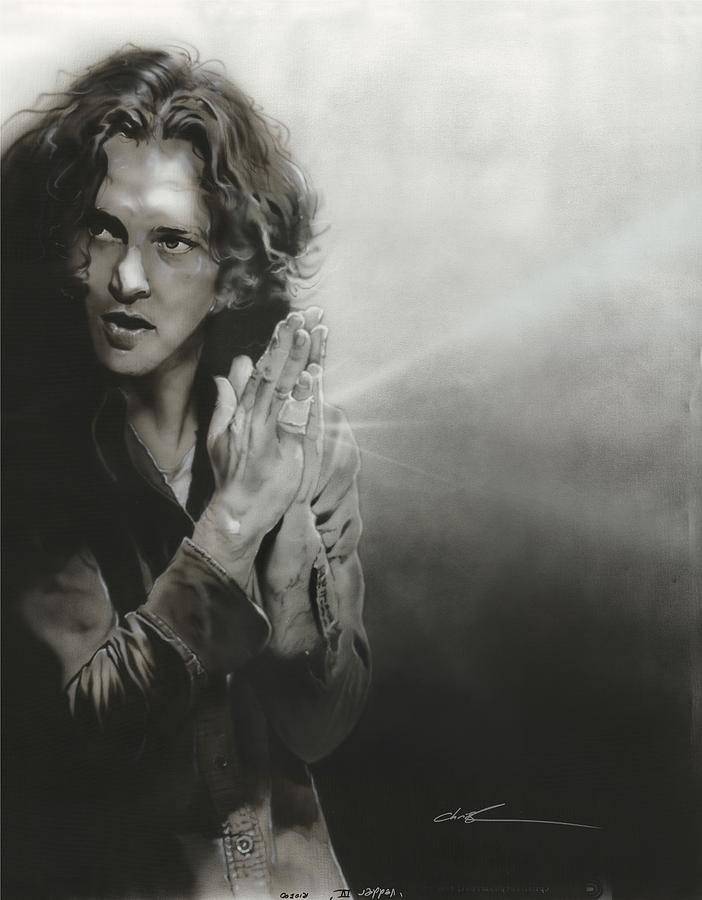 Eddie Vedder Painting - vedder Iv by Christian Chapman Art
