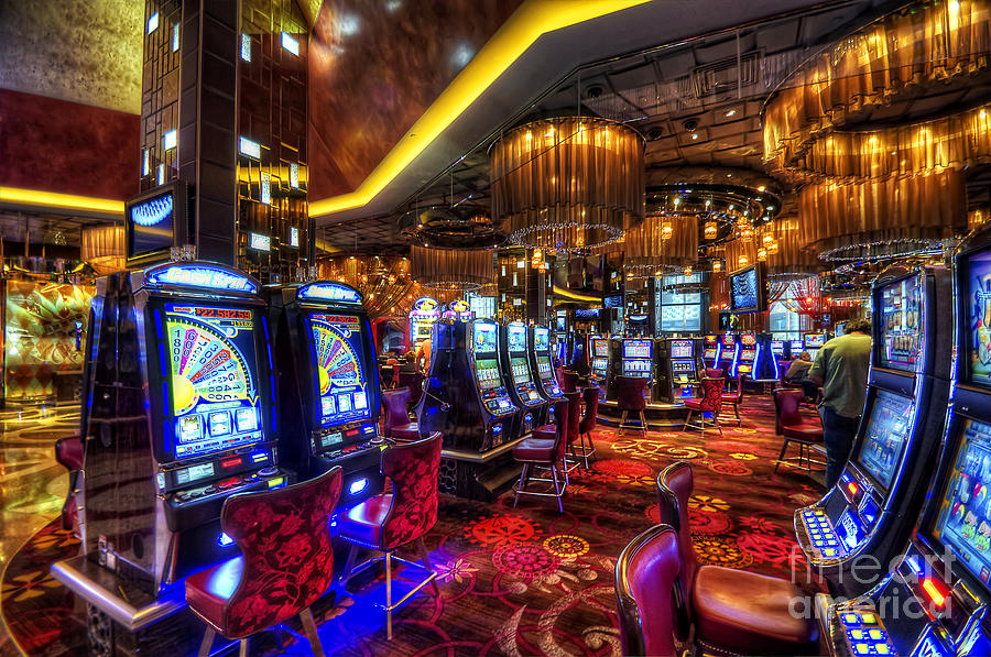 Vegas Slot Machines Photograph  - Vegas Slot Machines Fine Art Print