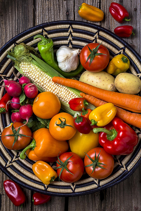 Vegetable Basket    Photograph