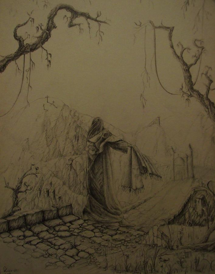 Veil Of Veronica Drawing