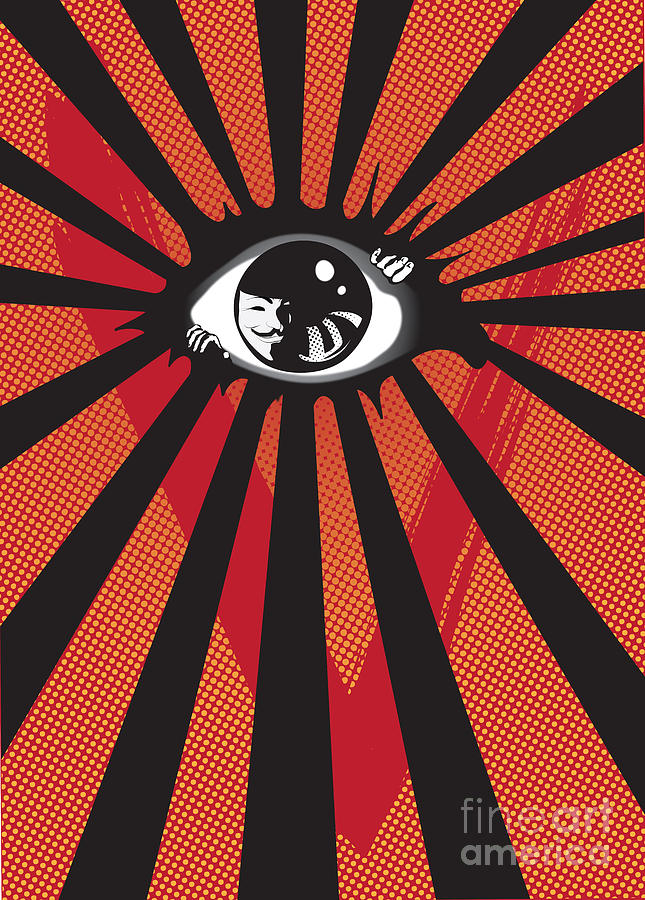 Vendetta2 Eyeball Digital Art