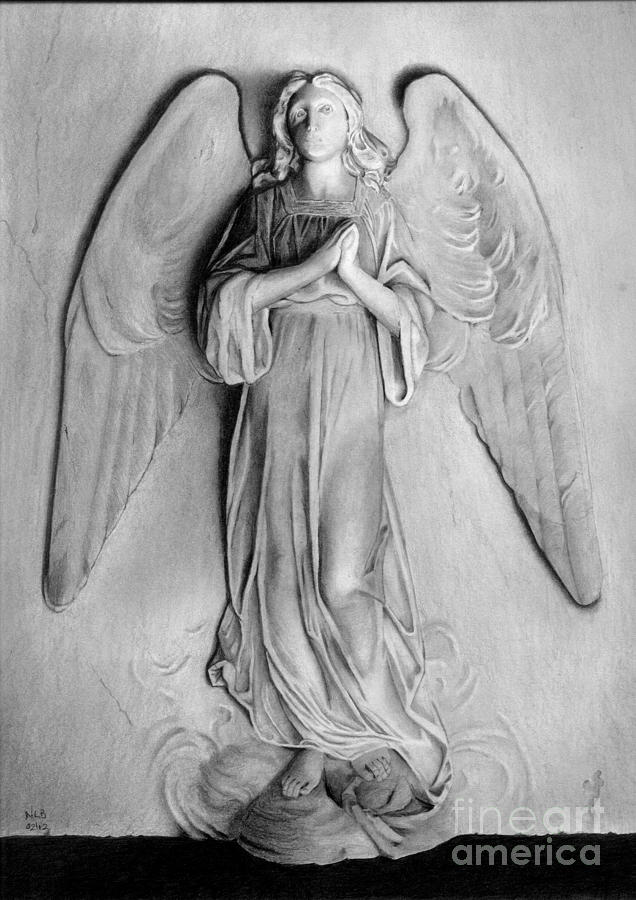 Venetian Angel Drawing