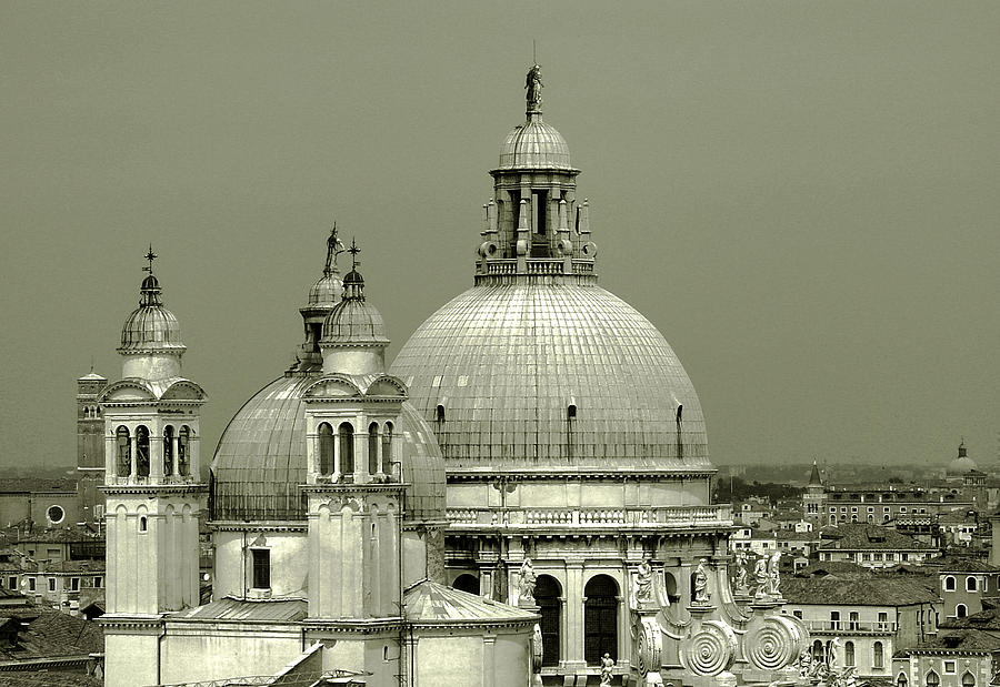 Venetian Basilica Salute Photograph