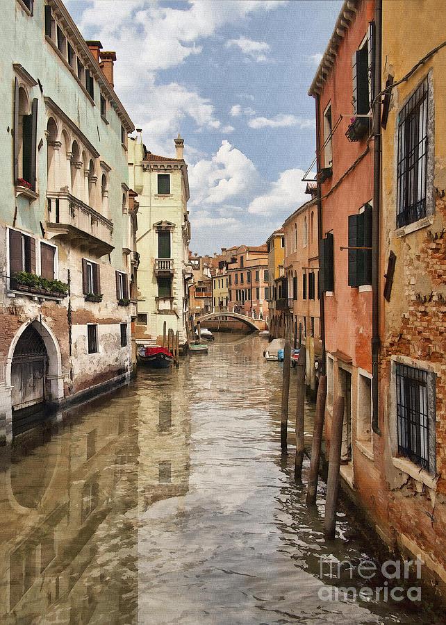 Venetian Canal IIi Digital Art