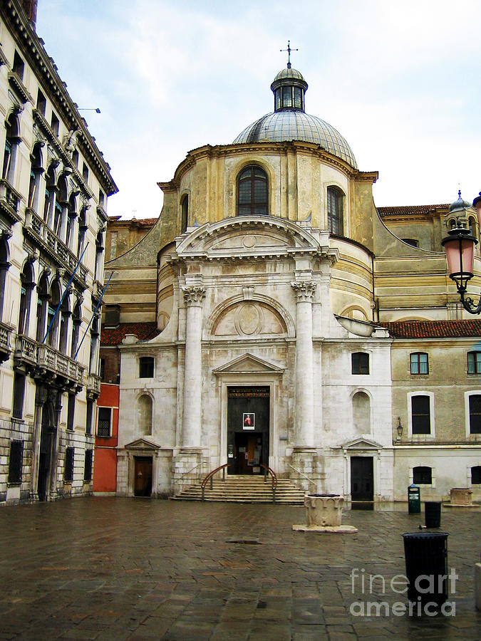 Venetian Church Photograph