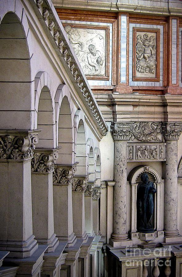 Venetian Walkway Photograph